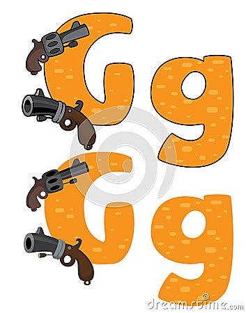 Letter G gun