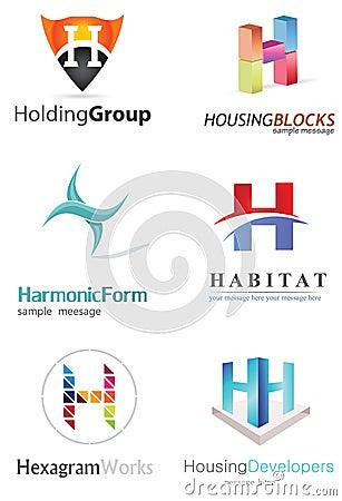 Free Letter H Logo Stock Image - 33002641