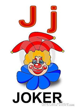 Letter J joker