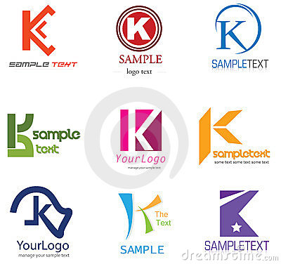 Alphabetical Logo Design  K Logo Images