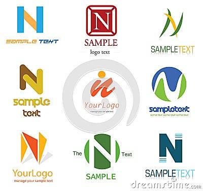 Alphabetical Logo Design  N Logo