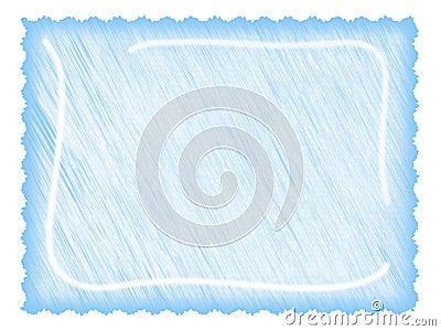 Letter paper ligth blue