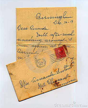 Letter from the Past