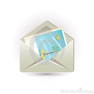 Letter and picture