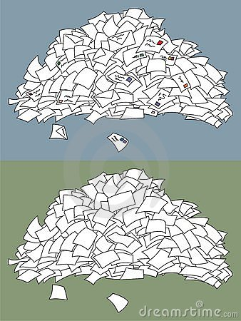 Letter Pile Royalty Free Stock Photography Image 10881517