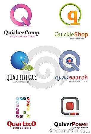 Letter Q Logo Ro...Q Letter Design