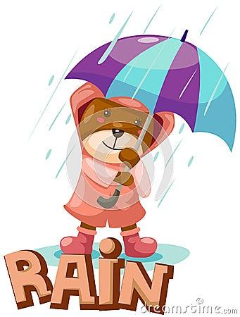 Letter of rain