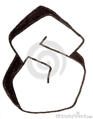 K Letter In Style Letter S, Alphabet In Graffiti Style Stock Photo - Image: 56599950