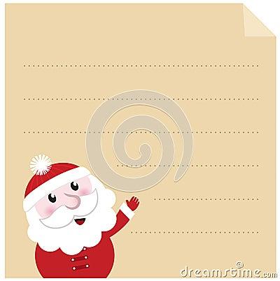 Letter to Santa.