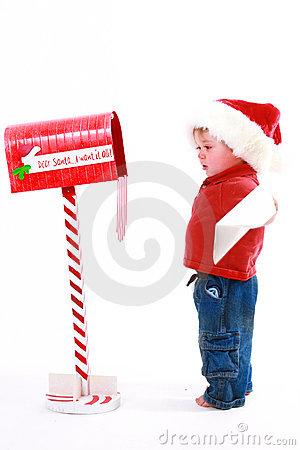 Free Letter To Santa Royalty Free Stock Image - 3652626