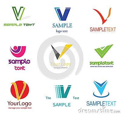 Free Letter V Logo Royalty Free Stock Photography - 22411357
