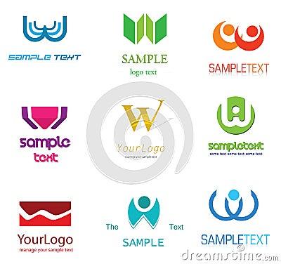 Free Letter W Logo Stock Photo - 22411360