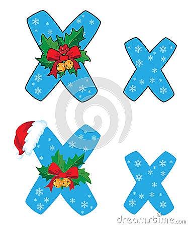 Letter X Xmas