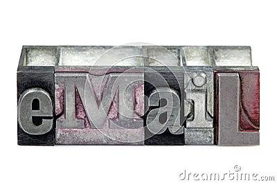Letterpress eMail