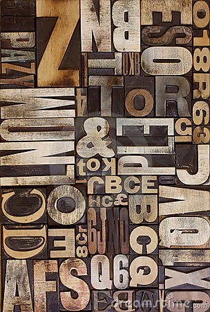Letterpress flat