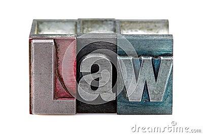 Letterpress Law