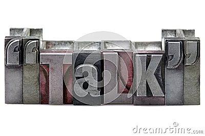 Letterpress Talk