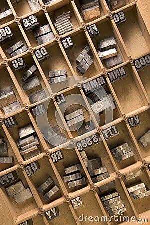 Letterpress tray