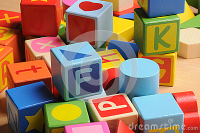 Letters block