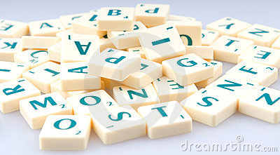 Letters in a pile