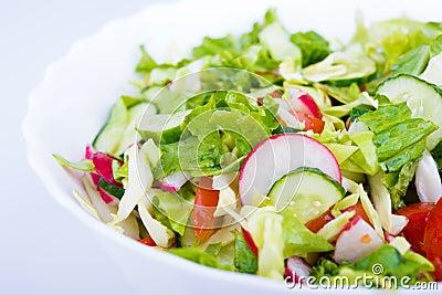 Lettuce from green goods