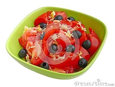Lettuce from tomato