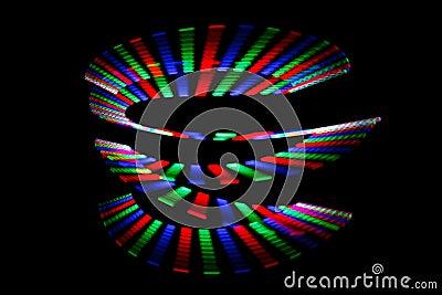 leuchtende farben des regenbogens schleppen in der form der spirale lizenzfreie stockfotos. Black Bedroom Furniture Sets. Home Design Ideas