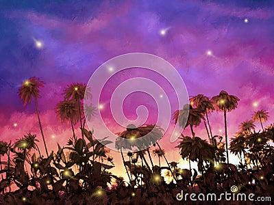 Leuchtkäfer-Tanz