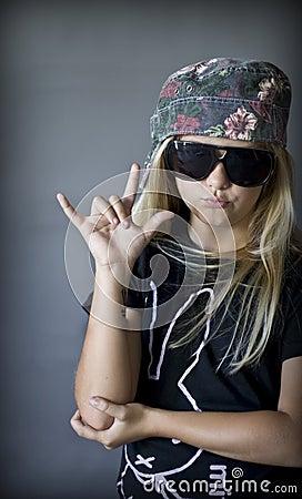 Leuk Blond Meisje