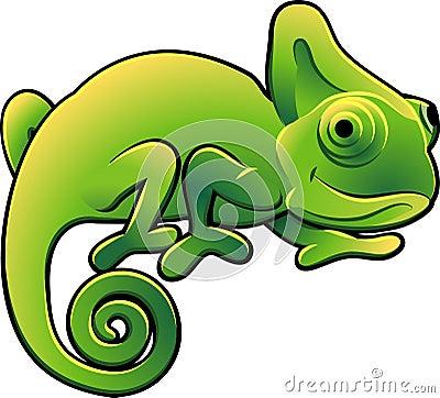 Leuk Kameleon VectorIllustra