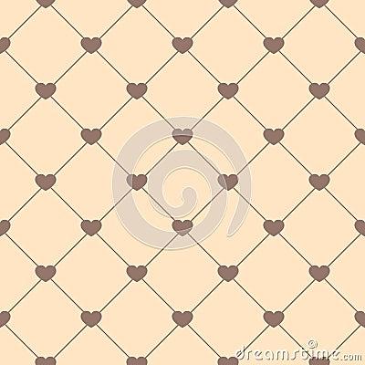Leuk retro abstract naadloos patroon kan voor behang worden gebruikt vult de dekking web - Behang patroon voor de slaapkamer ...