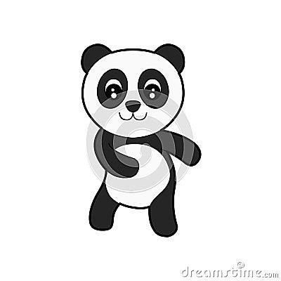 Leuke Panda Royalty Vrije Stock Afbeeldingen Afbeelding