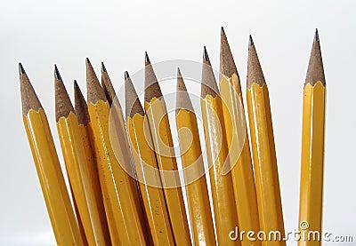 Levarsi in piedi delle matite