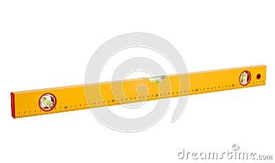 Level gauge cutout