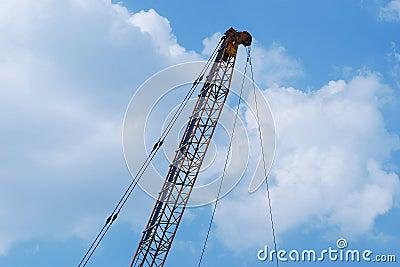 Lever crane