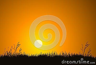Lever de soleil de matin