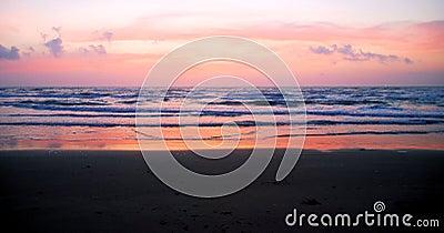 Lever de soleil du sud 3 d île de Padre