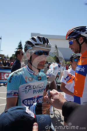 Levi Leipheimer 2012 Amgen Tour of California Editorial Image