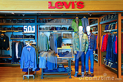 Levi s 501 outlet Editorial Photography