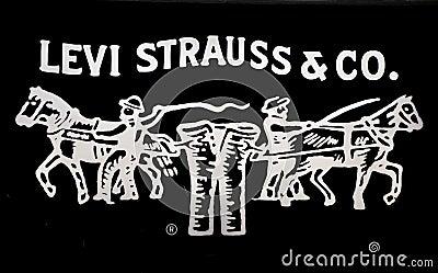 Levi Strauss Jeans Logo Editorial Stock Photo - Image ...
