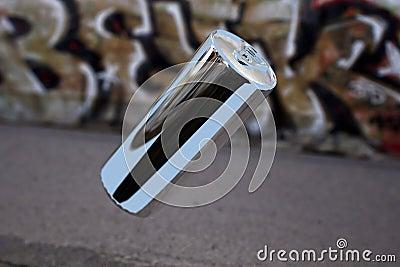 Levitating aluminium can