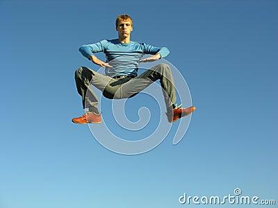 Levitation boy