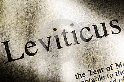Leviticus Text Header Stock Image Image 32933411