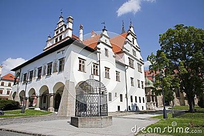 Levoca - renaissance town hall - Slovakia
