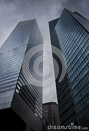 Lexington Avenue Skyscrapers Editorial Stock Image