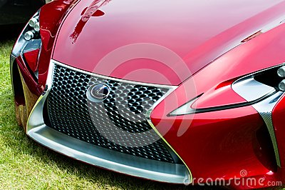 Lexus Concept Car LF-Lc Editorial Image