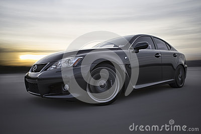 Lexus IS-F Editorial Photography