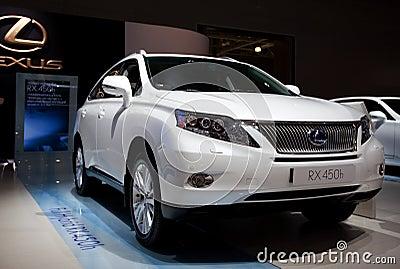 Lexus Full Hybrid RX 450h Editorial Image