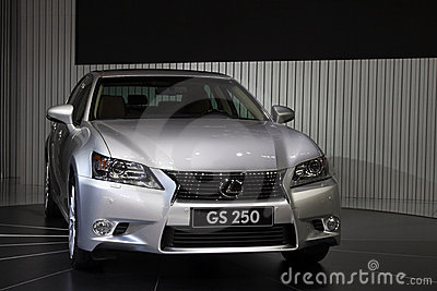 Lexus GS250 world debut in Guangzhou Auto Show Editorial Image