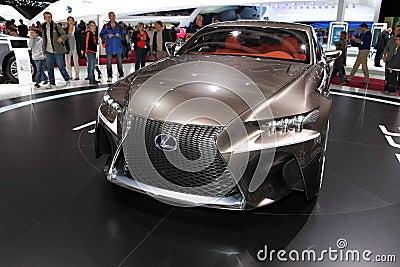 Lexus LF-CC Editorial Image